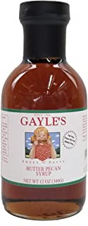 Gayle's Sweet N' Sassy Butter Pecan Syrup