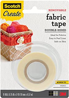Scotch Create Removable Double Sided Fabric Tape