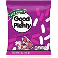 GOOD AND PLENTY Licorice Candy 7 Ounce