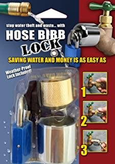 Conservco DSL-2 Hose Bib Lock with Padlock