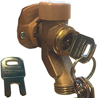 Outdoor Water Faucet Child Lockout System