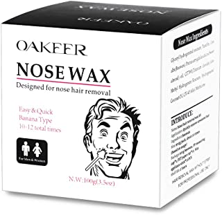 OAKEER Men Nose Wax Hair Removal Nose Wax