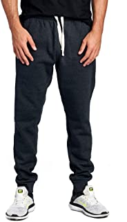 ProGo Men's Casual Jogger Sweatpants Basic Fleece