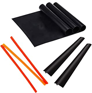 Oven Accessories Set 8-3 Silicone Rack Protectors and 2 Stove Counter Gap Cover