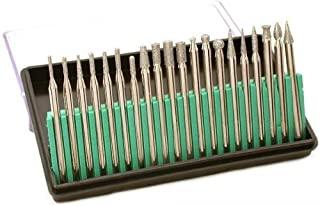 Pro-Quality 20-Piece Diamond Bur Set for Rotary Tool