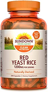 Sundown Red Yeast Rice 1200 mg Capsules