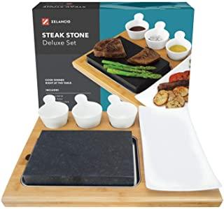 Zelancio Premium Lava Hot Stone Cooking Platter