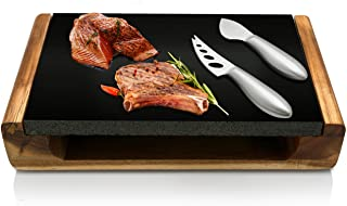 NutriChef Hot Lava Cooking Stone Set