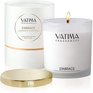 Vatima Lavender and Eucalyptus Candle for Women