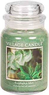 Village Candle Eucalyptus Mint 26 oz Glass Jar