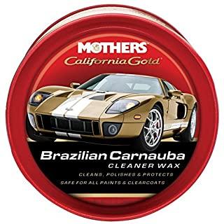 Mothers 05500 California Gold Brazilian Carnauba Cleaner Wax