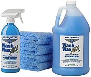 Wet or Waterless Car Wash Wax Kit