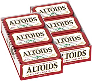 Altoids Classic Peppermint Breath Mints Singles Size 1.76 Ounce