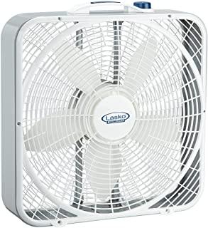 Lasko 20-Inch Weather-Shield Performance Box Fan