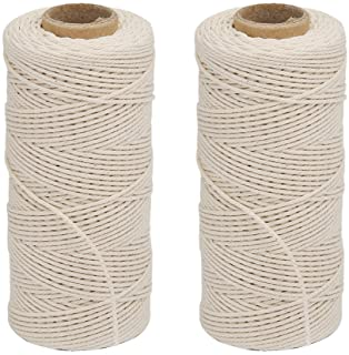 Vivifying Cotton String 2 Pieces x 328 Feet Food Safe Cooking Twine