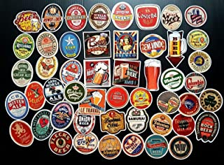 50 Pieces Beer Sticker Bomb Collection