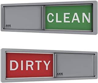 PREMIUM Dishwasher Magnet Clean Dirty Sign Slider