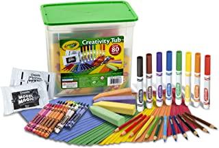 Crayola Creativity Tub Over 80 Art Tools