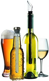 Wine and Beer Chiller Sticks Pack of 2 Aerator Pourer Accessories