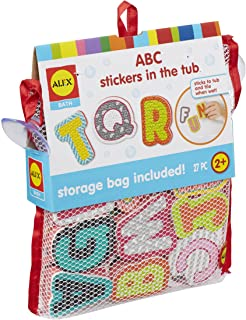 Alex Bath ABC Stickers in the Tub Kids Bath Activity