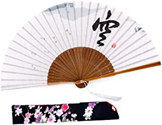 Amajiji Folding Hand Rave Fan