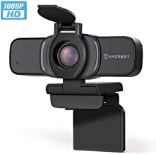 Amcrest 1080P Webcam with Microphone & Privacy Cover