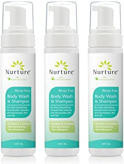 No Rinse Body Wash and Shampoo from Nurture