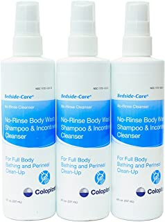 No-Rinse Body Wash, Shampoo, and Incontinent Cleanser