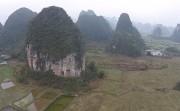 beautiful China through drone