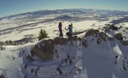 proposal on a mountain top
