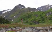 backpackign Alaska
