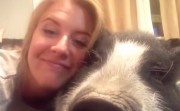 pig that doesn't like to cuddle