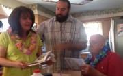 surprised parents