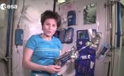 International Space Station bathroom