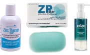 Zinc soap and facial wash