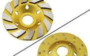 OCR 4-inch Concrete Turbo Diamond Grinding Cup Wheel