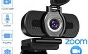 2020 1080P Webcam with Microphone & Privacy Cover NexiGo