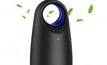 Air Purifier for Home/Office, Afloia Air Cleaner H13 HEPA Filtration removes 99.97% Air Contaminants